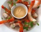 Crevettes roses et mayonnaise à l'huile de homard © GP