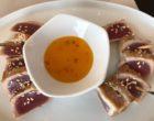 Thon mi cuit sauce mangue épicée © GP