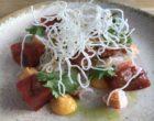 Homard, tomates anciennes, coriandre, mayonnaise au homard © GP