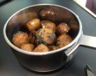 Les fameuses pommes grenailles en cocotte © GP