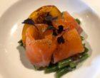 Truite saumonée et haricots verts © GP