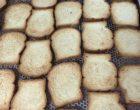 Les biscottes au sortir du four © GP
