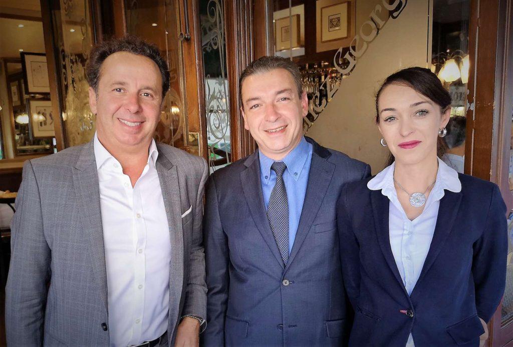 Paris 17e quoi de vieux chez georges restaurants - Chez georges porte maillot ...