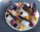 haché menu de dorade et saint Jacques, grecque de chou fleur ©GP