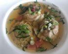 Ravioles de homard, bouillon à la citronnelle et gingembre © GP