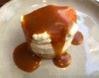 Cheese cake, caramel au beurre salé, crumble © GP