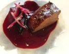 Foie gras à la betterave © GP