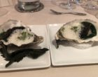 Huîtres gillardeau, cresson, haddock et caviar ©GP