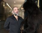Jacky Ribaut et son ours © GP