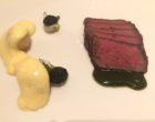 Bœuf de Picardie, pommes de terre grenailles cuites sous la cendre, sabayon de cèpes ©GP