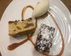 Clafoutis aux mirabelles et sorbet fromage blanc © GP