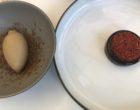 Coeur de chocolat et piment, glace café © GP
