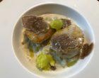 Saint-jacques, truffes et céleri © GP