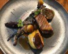 Assiette d'oie et foie gras de canard © GP