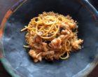 Spaghetti aux fruits de mer © GP