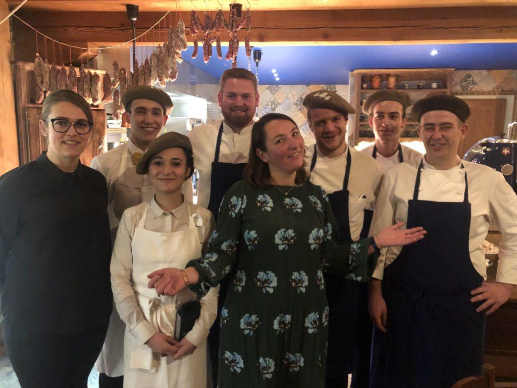 La Table De Jeanne Restaurant Tignes Jeanne Emma Hugo Et Les