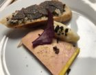 Foie gras et tartine truffée © GP