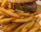 Burger frites © GP