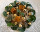 Saint Jacques en carpaccio, coques marinées aux épices, condiment poutargue de Missolonghi © GP