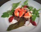 Lentilles vertes du Puy, homard et chorizo ©AA