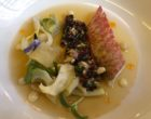 Rouget et calamars marinés au quinoa croustillant © GP