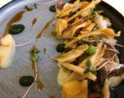 Fricassée d'ormeau, noisettes et praliné de champignons © GP