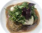 Roulé de lotte, bouillon thaï, ravioles de cèpes © GP