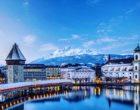 La ville et le Kappelbrücke © DR