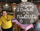 Régine, reine de l'omelette ©GP
