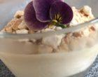 Espuma de confiture de lait et crumble de noix de cajou © GP