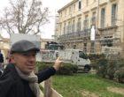 Jacques Pourcel face au nouveau Jardin es Sens © GP