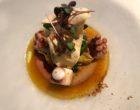 Poulpe, langue de veau, parmesan, tomate, poivrade ©GP