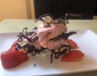 Millefeuille fraises chocolat © GP