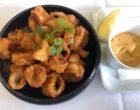 Calamars frits, sauce creamy spicy © GP