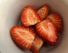 Salade de fraises d'Arcangues © GP