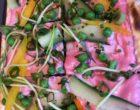 La tarte flambée aux légumes © GP
