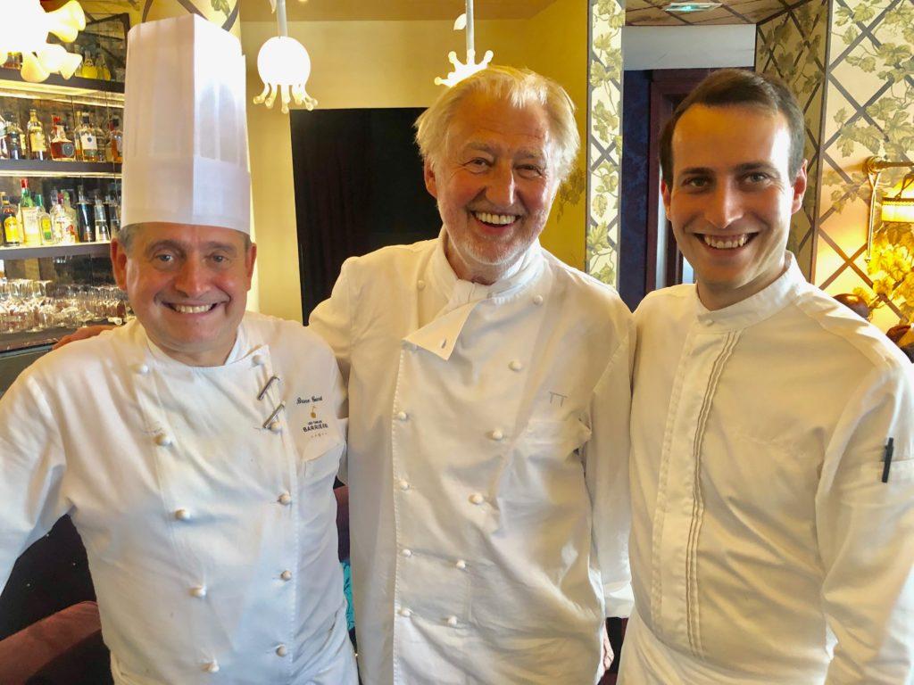 Bruno Gueret, Pierre Gagnaire, Raymond Nordin © GP
