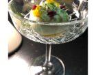 Tarte Tatin, vanille, brandy, jus de citron, gaufre ©GP