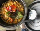 Cocotte de risotto d'épeautre aux légumes et parmesan ©GP