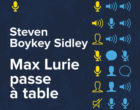 Max Lurie passe à table
