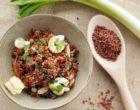 Recette de post-confinement : salade de riz rouge des empereurs et calamars de Sabarot