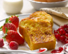 Recette de post-confinement : le pain perdu au coulis de fruits rouges des papas poules