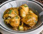 Recette de post-confinement : le tagine de poulet au citron confit de Karim Benbaba