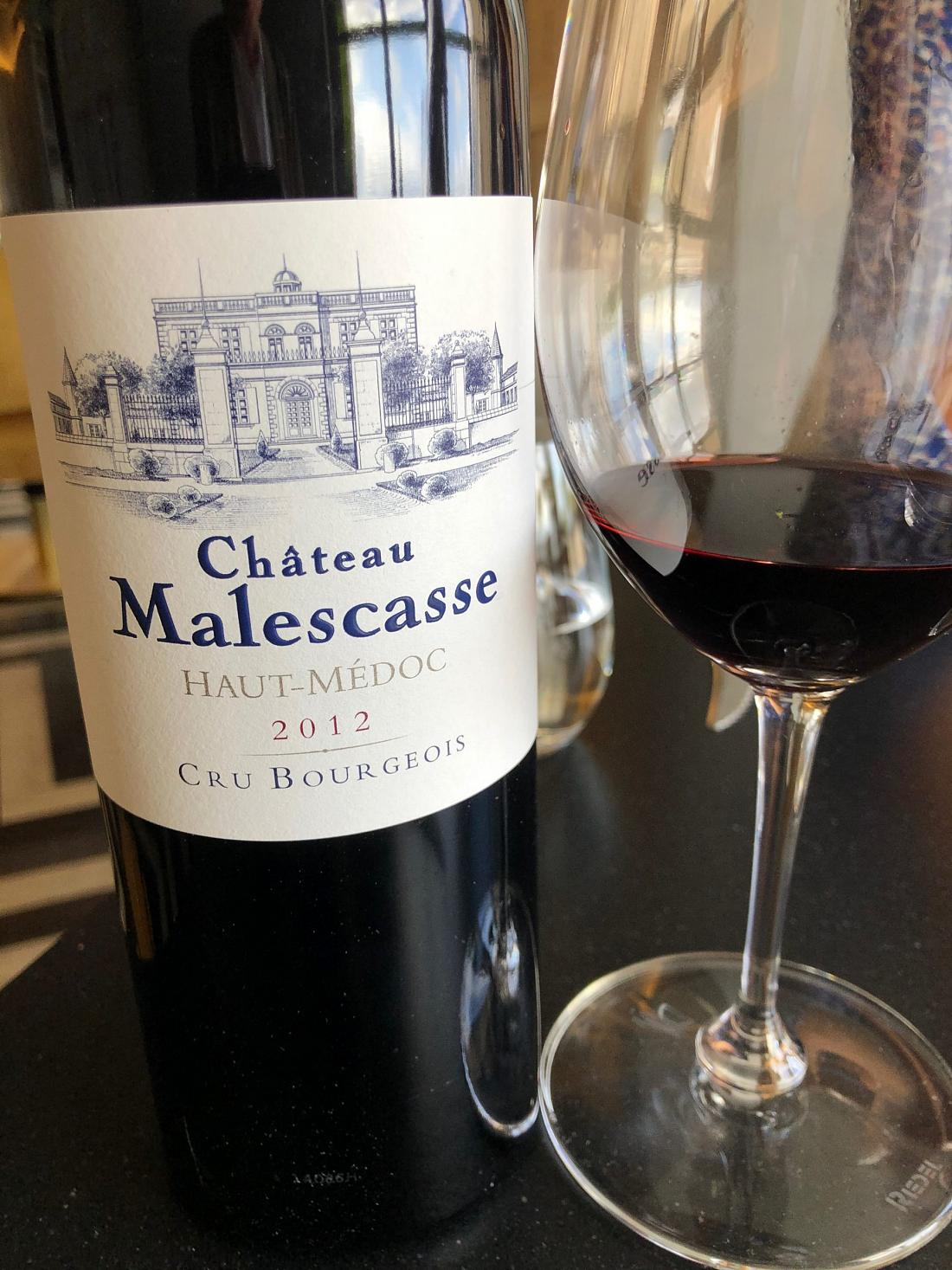 Château Malescasse 2012 © GP