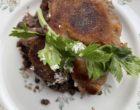 Canard croustillant, lentilles, raifort © GP