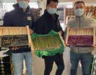 Rungis : asperges et fruits chez Monloup