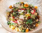 Salade rustique aux lentilles © DR