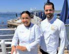 Juan-les-Pins: Mégane à la plage