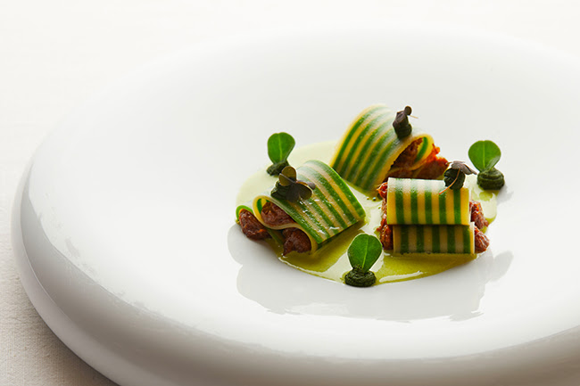 Queue de boeuf en lasagnette © DR
